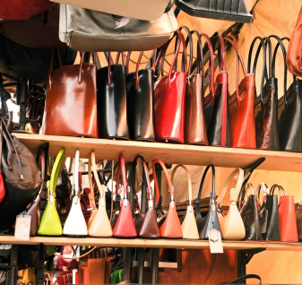 Anti theft devices for items that carry hefty price tags, like designer handbags.